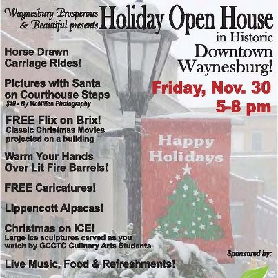 Downtown Waynesburg Holiday Open House